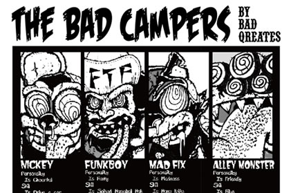 THE BAD CAMPERS