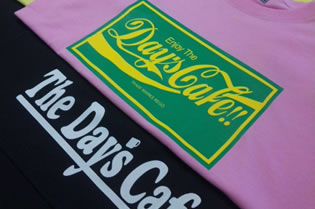 The Day's Cafe!! STAFF T-shirt